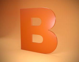 Плоские буквы из пвх пластика с пленкой