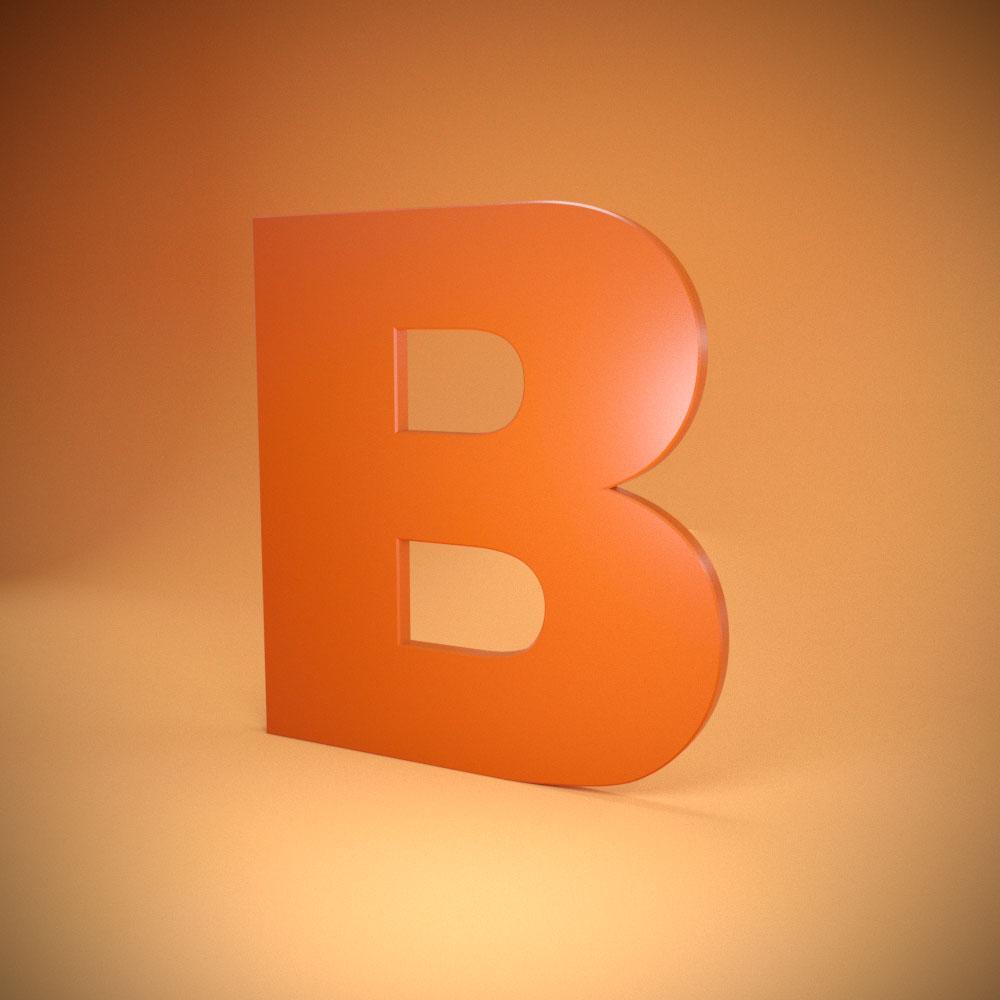 Объемно-плоскостные буквы из пвх пластика