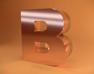 Объемные 2-х слойные буквы из нержавеющей стали
