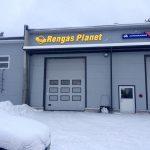 Изготовление вывески с подсветкой Rengas Planet