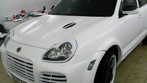 Винилография, оклейка винилом, брендирование - Porsche Cayenne