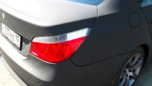 Винилография, оклейка винилом, брендирование BMW матовая